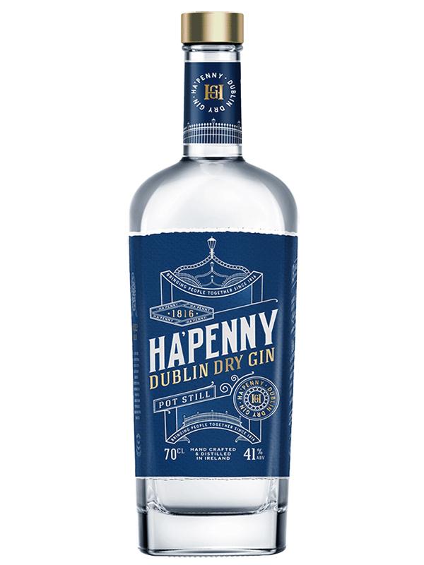 HA'PENNY Dublin Dry Gin